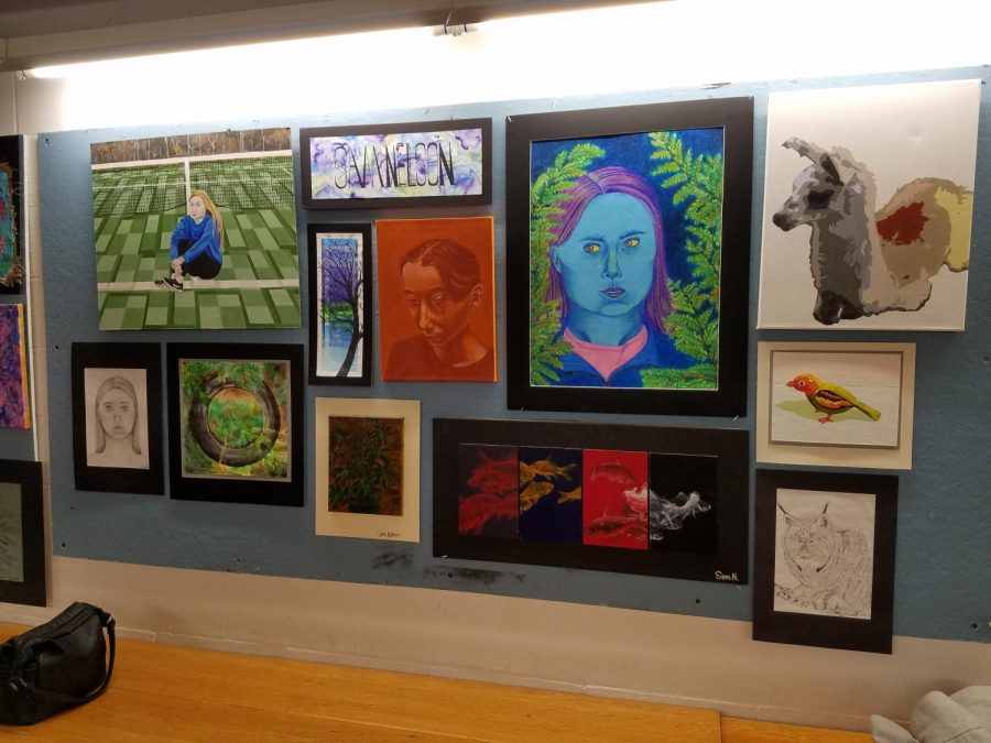The Lake Shore Art Department Presents: The Senior/Junior Art Show