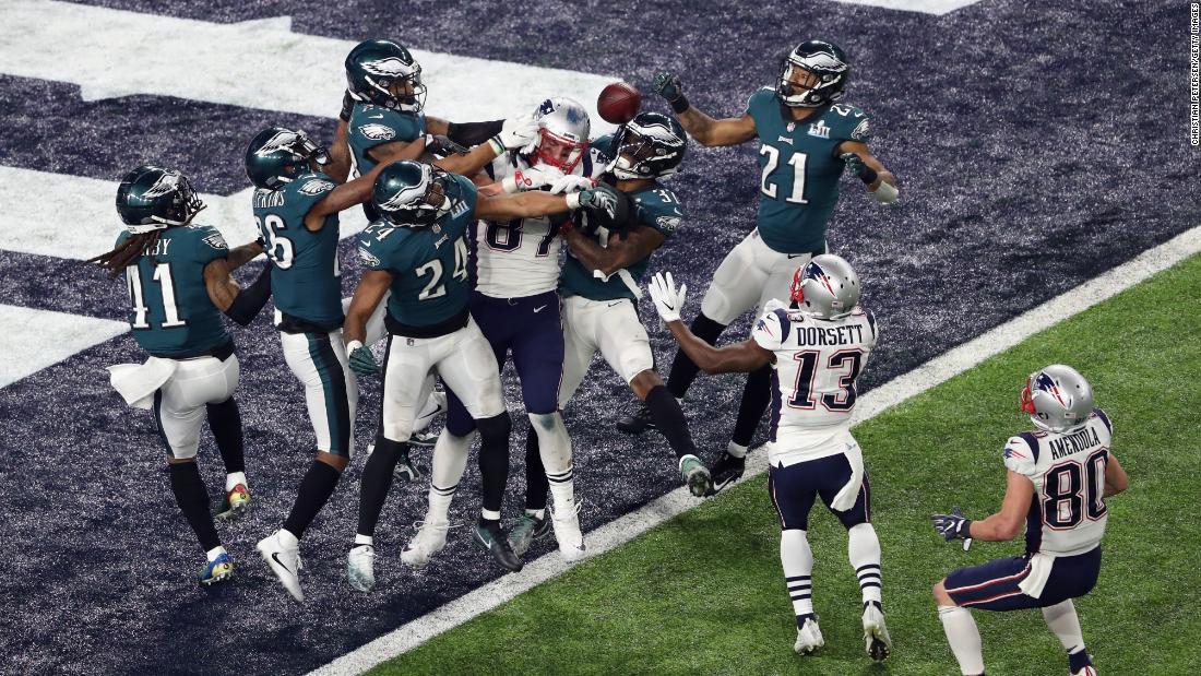 Super Bowl LII at U.S. Bank Stadium on February 4, 2018 in Minneapolis, Minnesota [Courtesy of CNN]