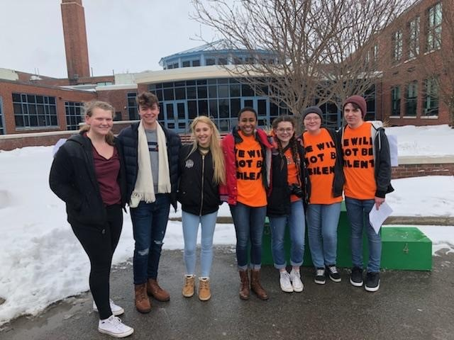 Students+speak+out+against+gun+violence+at+Lake+Shore+Central+school+protest