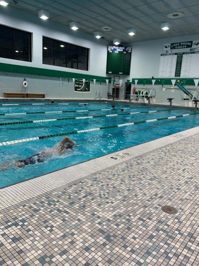 A Feature on Lake Shore's Boys Varsity Swim Team